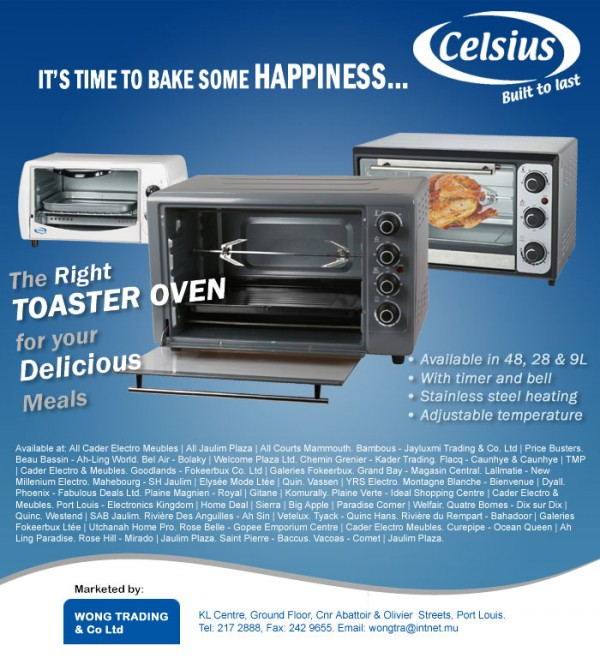Celsius Toasters – Built to last
